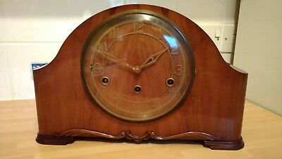 Vintage Westminster Chime Enfield Mantel Clock