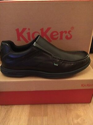 Black Kickers Shoe Size UK 10.5 Eu 45