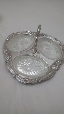silver plate stand