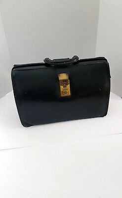 Vintage Cheney Medical Doctor Bag Made in England Briefcase!