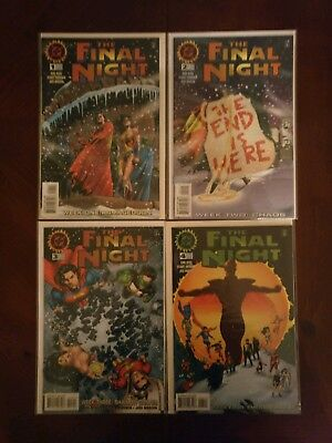 DC Comics The Final Night #1-4 Full Series Comic Book Lot