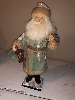 Bethany Lowe Blue Santa St. Nich, Father Christmas