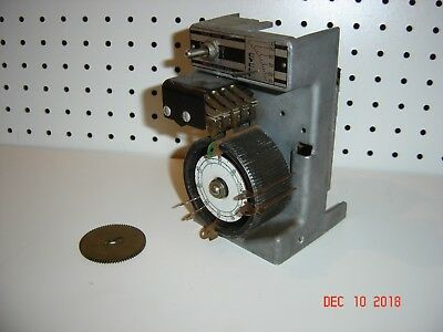Vintage Traffic Signal Light Timer Dial Unit for Eagle EF type Controllers