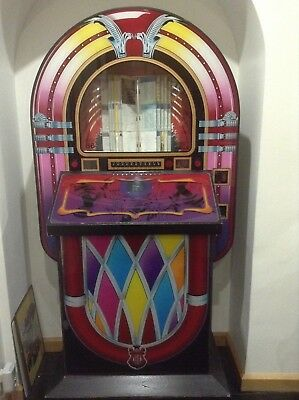 CD Jukebox ROUTE 66 By Sound & Leisure commercial - Curved Shape Not Wurlitzer