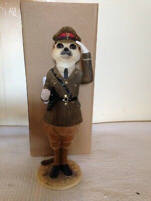 Country Artists Magnificent Meerkat Monty Ornament Figure CA02900 Boxed