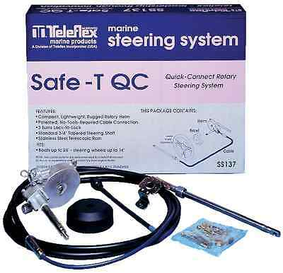 Teleflex Ss137 10` Safe-T Qc Rotary Steering System 8750