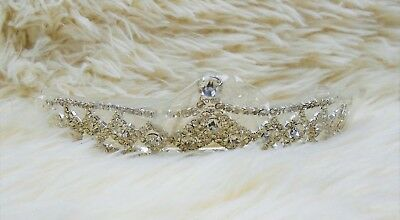 Crystal King Wedding Bridal Party Pageant Prom Tiara Round Crown