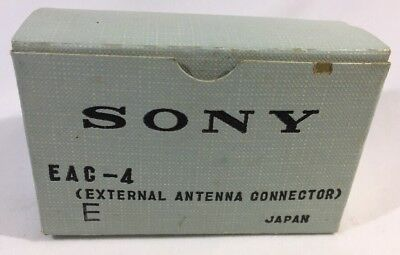 Sony EAC-4 External Antenna Connector For Sony Mini TV And Radio 3.5mm Antenna