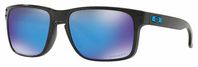 Oakley Sunglasses  Holbrook Model OO9102-F555 Polished Black / Prizm Sapphire