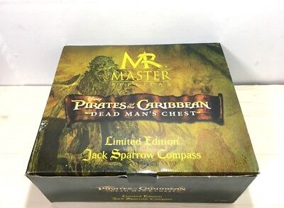 Master Replicas  Pirates of the Caribbean Jack Sparrow Compass Johnny Depp