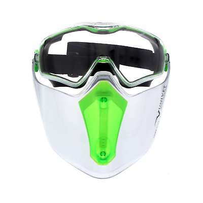 Maxisafe Safety Goggle & Visor Combo Wide Peripheral Vision & Face Coverage