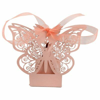 10Pcs Hollow out papier butterfly lovely candy box/ Gift Boxes for Wedding R7M8)
