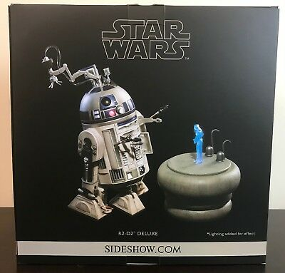 Star Wars R2-D2 Deluxe 1/6 Scale Figure by Sideshow Collectibles - USED