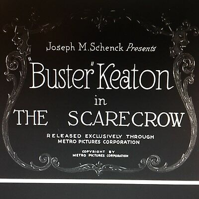 Buster Keaton The Scarecrow Super 8mm Film Rare