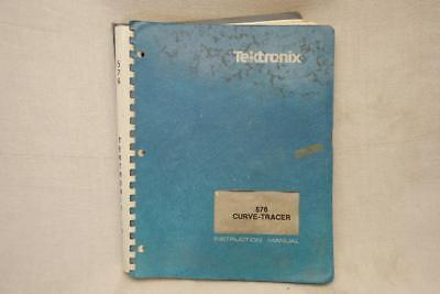 Original Tektronix 576 Transistor Curve Tracer Instruction Manual