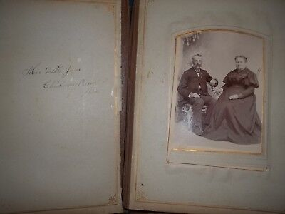 Wonderful 1892 Photo Album Many Pictures, Antique Collectible  Awesome