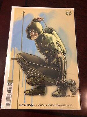Green Arrow Comic #45, Variant Cover