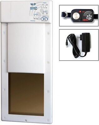 Electronic Fully Automatic Dog Pet Door 12 In. X 16 In. Large