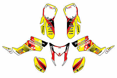 Suzuki QuadSport Z250 graphic kit ltz250 z 250 decals stickers atvgraphics mx