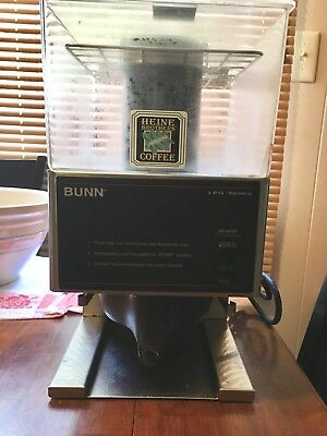 Bunn LPG Series Commercial Coffee Grinder Low Profile / One Hopper