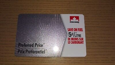 $30 Petro Canada Preferred Price Fuel Savings Gift Card - 5 cents off 600L