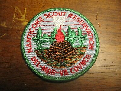 Del-Mar-Va Council National Scout Reservation Council BSA Patch