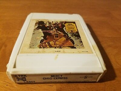 Ohio Express- Mercy- 8 Track Tape- Tested