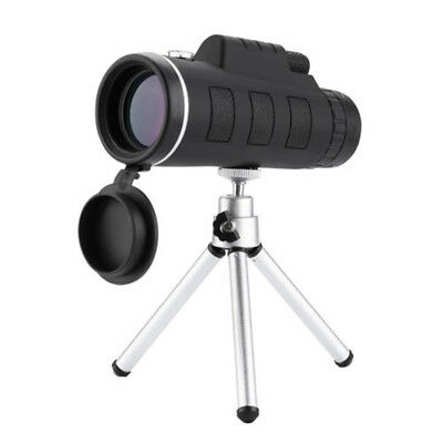 40X60 High Power Monocular Telescope HD Dual Focus Scope Monocular +Tripod+ Clip