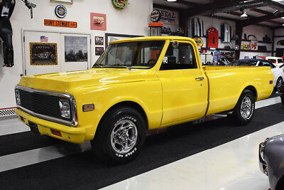 1972 Chevrolet C/K Pickup 2500 C20 PICKUP TRUCK 350 CI ENGINE AUTOMATIC A/C 10337 MILES 350 CI ENGINE AUTOMATIC FACTORY A/C POLISHED WHEELS CUSTOM LIGHTS