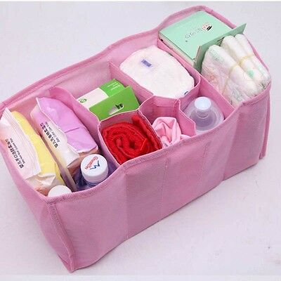 Baby Diaper Portable  Nappy Baby Water Bottle Changing Divider Storage Inner Bag