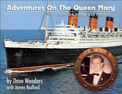 "NEW BOOK, ""Adventures On The Queen Mary"", Cunard White Star Line, Ocean Liner"