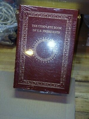 EASTON PRESS The Complete Book of U.S. President's Leather Bound