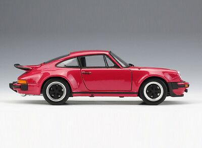 WELLY Collection 1/24 Diecast Red Car Model 1974 Porsche 911 Turbo3.0 Xmas Gift
