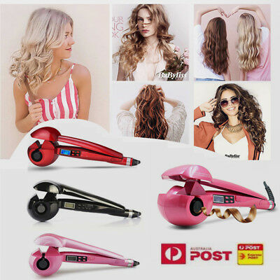 PRO Perfect LCD Automatic Anion Hair Curler Curling iron Roller Styling AU Magic
