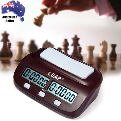 LEAP Digital Chess Clock I-go Count Up Down Timer Electric for Game Competition
