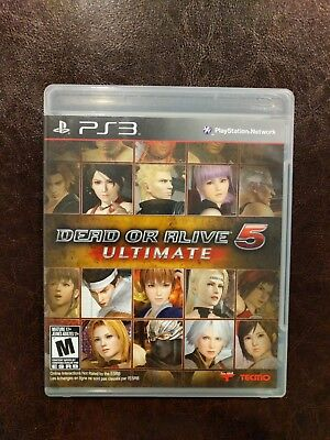 Dead or Alive 5 Ultimate - PS3, (PS3)