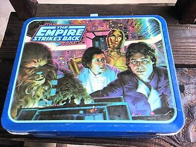 The Empire Strikes Back Metal Lunchbox From 1980, With Thermos Clean