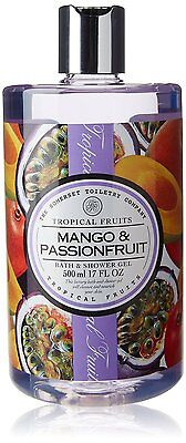 The Somerset Toiletry Company MANGO & PASSIONFRUIT Bath & Shower Gel 17 Oz/500mL