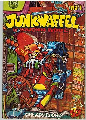Junkwaffel By Vaughn Bode, No. 1, 1971, First Printing - Free Shipping