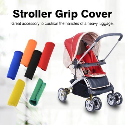 Pram Stroller Accessories Arm Protective Case Cover Handle Armrest Covers AB