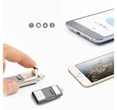 128GB USB Flash Drive i Storage Memory Stick For iPhone PC and android Device
