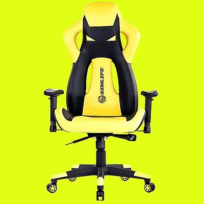 Office Gaming Chair Racing Style Ergonomic High-back Computer Swivel Chair-Y