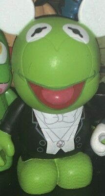 "DISNEY Vinylmation 3"" Park Set 1 Muppets Chaser Kermit the Frog Figure"