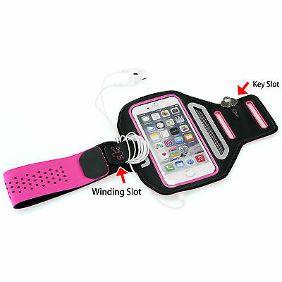Sports Gym Running Exercise Slim Armband for iPhone 6 6S Arm Band Case Pink