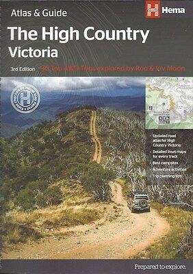 Hema High Country Victoria Atlas & Guide *FREE SHIPPING - NEW*