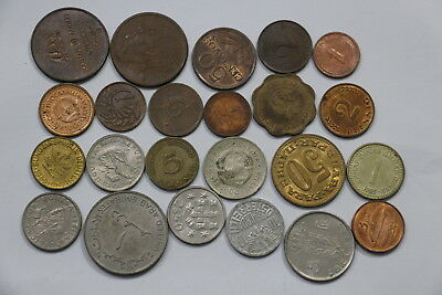 World Coins Useful Lot With Many High Grade B10 Wk11