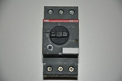 New ABB 3P Manual Motor Starter MS116-16, 690 VAC, 10,0 – 16,0A