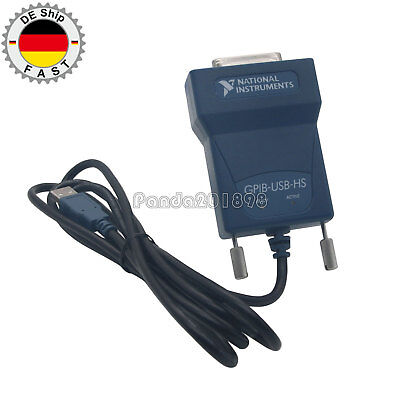 National Instrumens NI GPIB-USB-HS GPIB Data Acquisition Card 778927-01 IEEE DE^