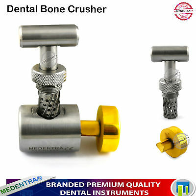Dental Implant Bone Crusher Grinder Bone Grinding Mill Grafting  Morselizer Lab