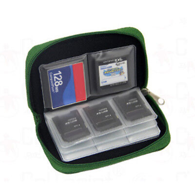 22 Slots Memory Card Storage Wallet Case Organizer Bag Holder SD CF Micro